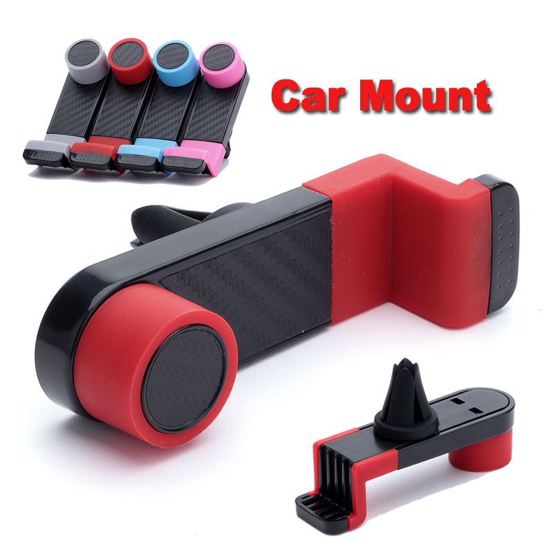 LEMFO Universal Car Mobile Phone Holder Air Vent Mount Bracket for Samsung Galaxy S6 S5 S4 Note 4 Note 3 iPhone 6 Plus 5 5S 4 4S(China (Mainland))