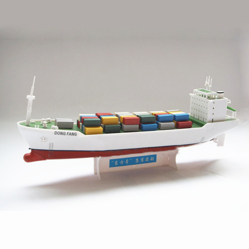 Oriental Electric Powered Container Vessel Science Kite Toys Gifts Ship Model(China (Mainland))