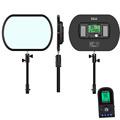 Idoblo PE 920II Bi color Ultra Thin Continuous Soft LED Photography Lighting Panel 2 4G Wireless