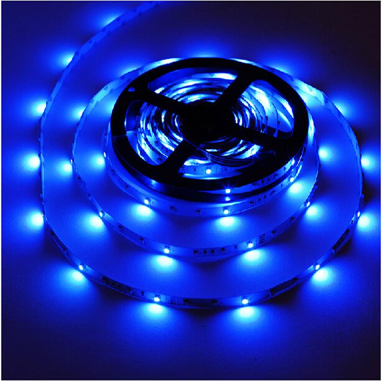 Yellow Led Strip Light: 12V Waterproof 5050 RGB LED Strip Light 30LEDs/M 5M/Lot