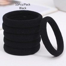 Buy New 10Pcs/Pack Black Mix Color Hair Holders Elastic Hair Bands Ponytail Rubber Rope Bands Women Girls Hair Accessory Scrunchie for $1.09 in AliExpress store