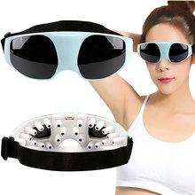 Eye Massager Magnetic vibration massage Eye Protection relaxation Instrument Go black eye Anti myopia USB/Battery power supply(China (Mainland))