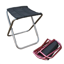 Light and strong fishing chair leisure folding chair aluminum alloy stool(Hong Kong)