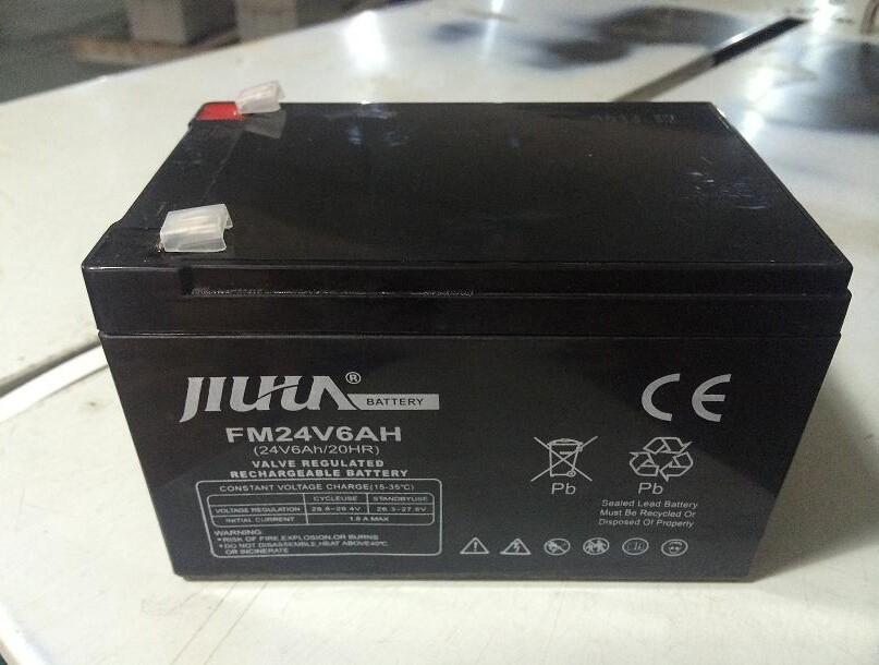 Free shipping 24V 6Ah Rechargeable Lead Acid Battery For Sea Scooter Underwater Propeller Diving Equipment With Battery(China (Mainland))