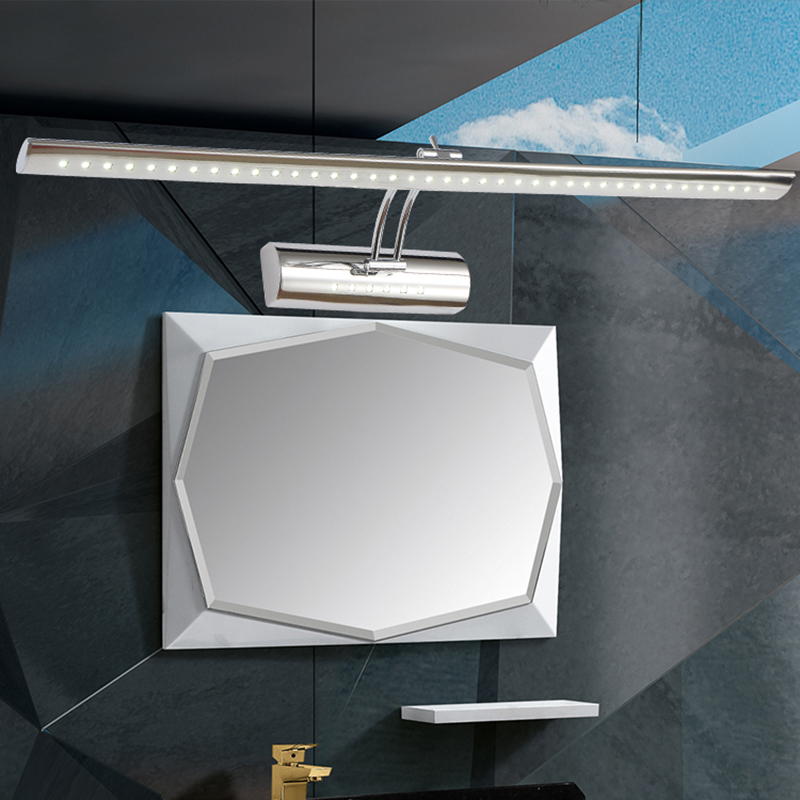 Modern bathroom mirror Light wall mounted beside lamp AC85~265V led stainless steel Wall Lights lampara de pared up down lamps(China (Mainland))