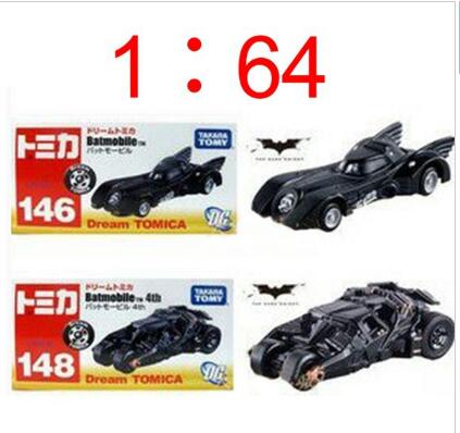 2Pcs/Lot Movie Batman Alloy Model Car Toy Tomica Tomy Dark Knight Batmobile 4th Tumbler Car Colletibles Car Toys Free Shipping(China (Mainland))