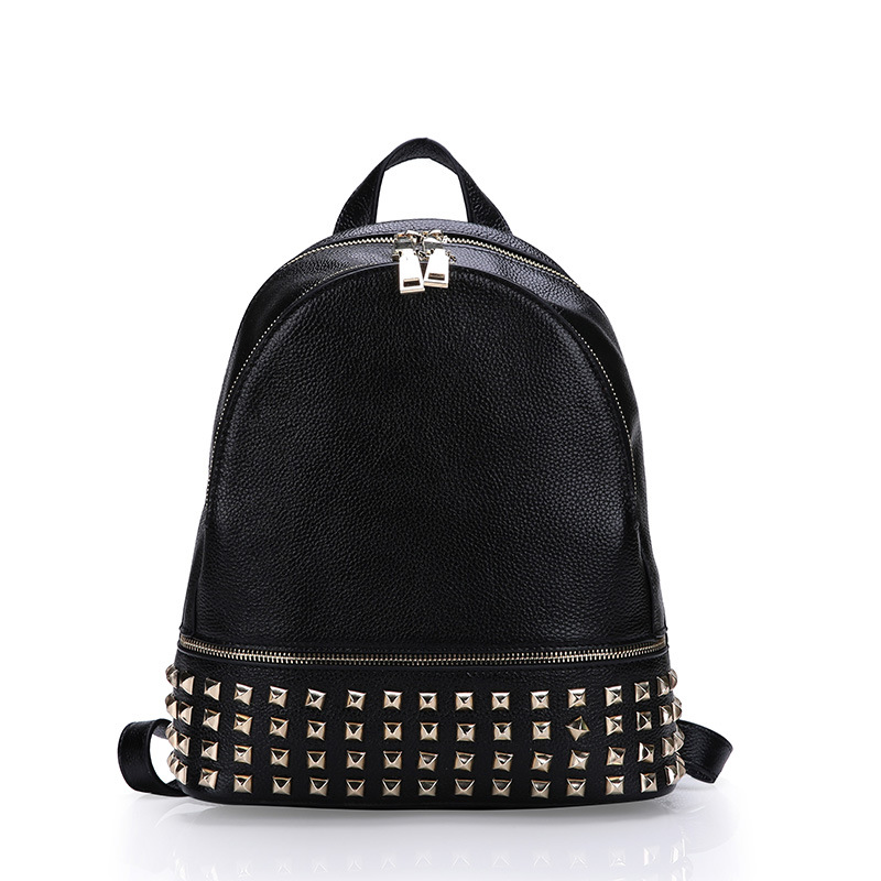 Women Backpack Genuine Leather Women Daily Backpack New 2015 Fashion Vintage Backpack Leather Ladies Women Bag