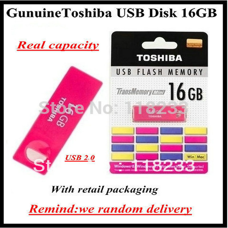Guarantee Original TOSHIBA MINI Enshu USB flash disk USB pen free shipping 1 piece real 4GB 8GB 16GB 32GB 64GB USB flash drive(China (Mainland))