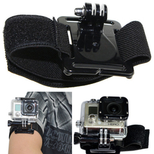 Gopro Accessories Adjustable Wrist Strap Arm Belt Mount for Xiaomi Yi GoPro Hero 4 3 SJCAM SJ4000 SJ5000 SJ7000 Action Camera