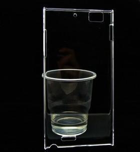 Crystal Transparent white Back Protector hard Case skin cover lenovo K900 - iTrimming store
