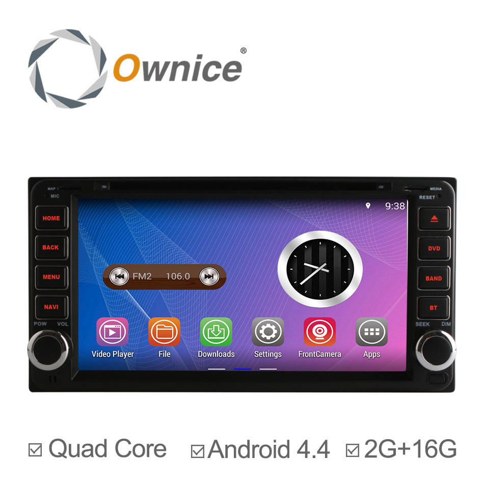 Car dvd radio For Hilux Fortuner Innova old Camry old Corolla old Vios old Rav4 old Prado Toyota Quad Core Android4.4 GPS 2g 16g(China (Mainland))
