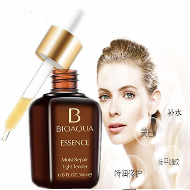 New Hyaluronic Acid Liquid Anti Wrinkle Serum Skin Care Whitening Moisturizing Day Cream Anti Aging Collagen Essence Oil(China (Mainland))