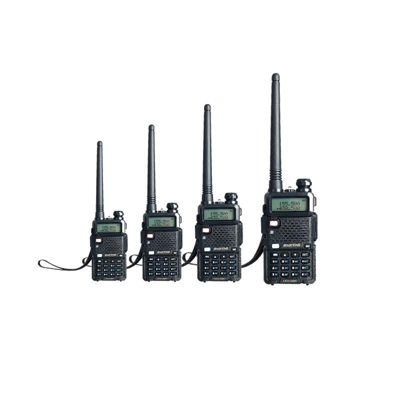 4 PCS Baofeng UV-5R Walike Talkie Pofung Dual Band Two Way CB Radio UV5R ham radios 5W 128 CH UHF VHF FM VOX Dual Display(China (Mainland))
