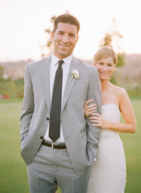 Light Grey Wedding Suit - Ocodea.com