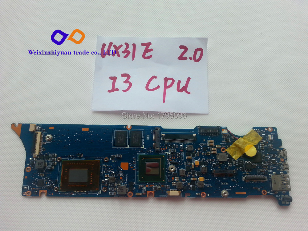 For ASUS UX31E Laptop Motherboard UX31E REV:2.0 Mother board 100% Tested(China (Mainland))