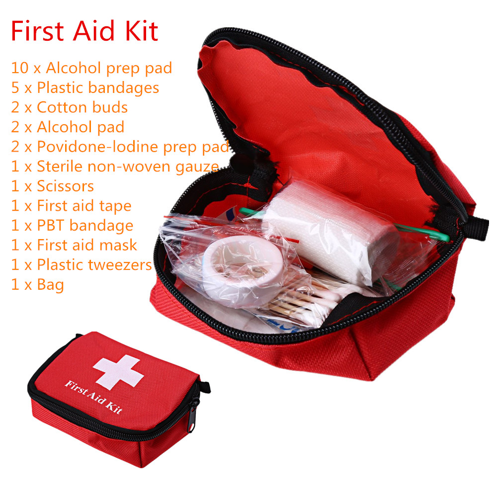 Outdoor First Aid Emergency Medical Kit Survival Bag Wrap Gear Hunt Bag Small Medicine Kit Travel Camping Hiking Wilderness(China (Mainland))