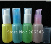 30ml pet colorful bird mounth lotion bottle or shampoo bird mouth shape bottle used for cosmetic