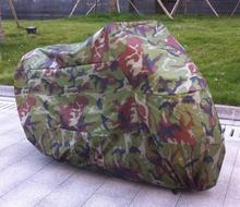 Forest Camouflage L Size 220*95*110cm Motorcycle Covering Waterproof Scooter Cover UV Resistant Heavy Racing Bike Outdoor Cover
