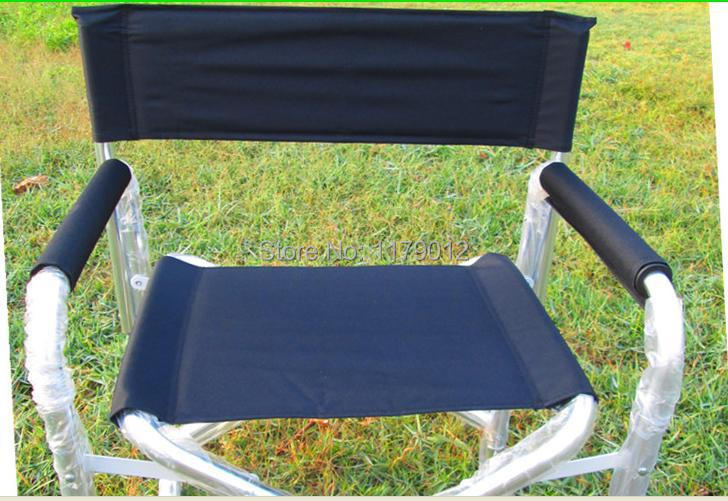 Aluminum folding chair director chair outdoor folding stool fishing chair(China (Mainland))