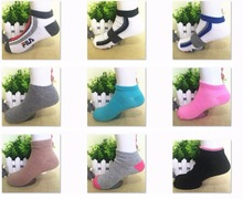 7-9 T Children Socks Spring Autumn Cute Candy Color Cotton short Socks For Girls Kid Boy colorful Color Sport Socks(China (Mainland))