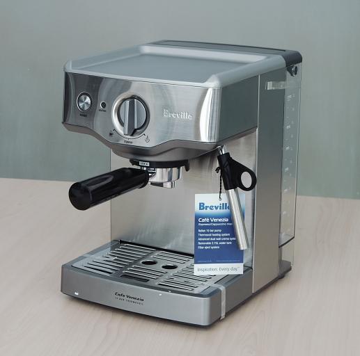 breville espresso machine no pressure