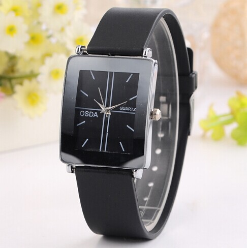 Rubber Band Women Quartz Watches Fashion Casual Analog Wristwatch Black Color Female Clock - Dream More Store store