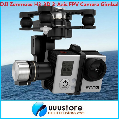 Здесь можно купить  DJI Zenmuse H3-3D 3-Axis FPV Camera Gimbal Z15 for Gopro Hero 3 Photography w/ DJI Controller (Standard Version)  Игрушки и Хобби