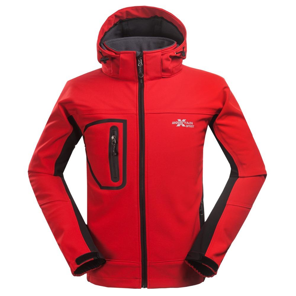 High Quality Mens Outdoor softshell fleece coat Camping &amp; Hiking jacket Windproof Waterproof Sportwear Skiing windbreaker<br><br>Aliexpress