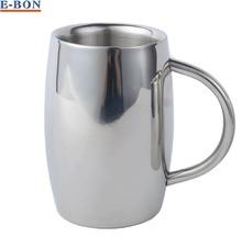 16OZ Top Grade Stainless Steel Mug insulated tumbler Double Wall Coffee Mug Tea Cup Beer Mug Drinkware Free Shipping