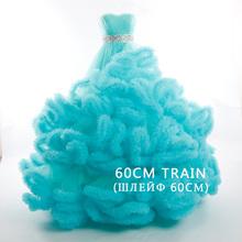 2016 Luxury Princess Long train Crystal Cloud Designer plus size Bridal gown Wedding Dresses vestidos de noiva robe de mariage(China (Mainland))