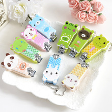 Home Using Nail Cutter/Mini Creative Cute Nail Clippers/Lovely Candy Color Cartoon Nail Trimmer Househould Necessity Nail Care(China (Mainland))