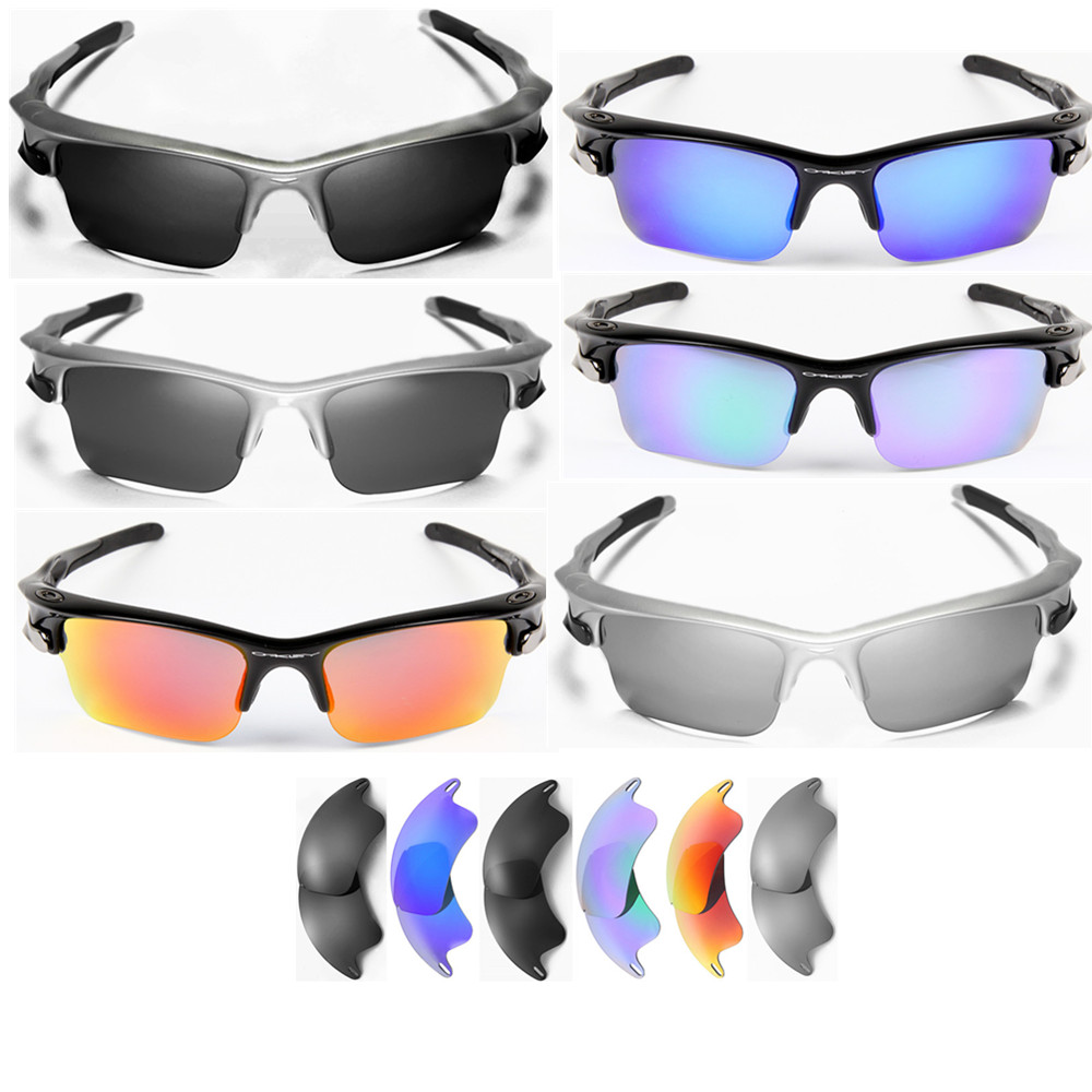 fast jacket oakley o91l  Inew polarized replacement lenses for Oakley Fast Jacket XL- option colors