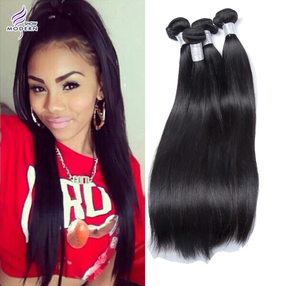 7A unprocessed Peruvian hair human hair weave straight Peruvian virgin hair straight 4pcs lot Best Peruvian straight hair weave<br><br>Aliexpress