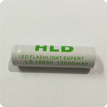 6X 18650 Free shipping  For lithium battery flashlight  18650   batteries use Mobile power and Flashlight free shipping