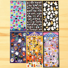 1Pcs New Japan Funny Halloween Ghost Animal Series DIY Christmas Diary Stickers Scrapbooking Office School Gift H0248