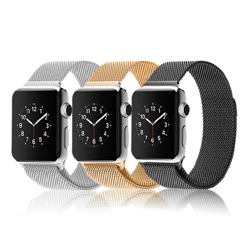 Original Milanese Magnetic Loop Strap & Link Bracelet Stainless Steel Band For Apple Watch 42mm 38mm Watchband(China (Mainland))