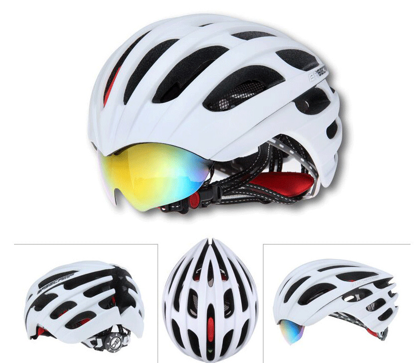 2015 HOT Basecamp Bicycle Cycling Helmet Specialized EPS+PC Material Ultralight Mountain Bike Helmet With 3 Lenses(China (Mainland))