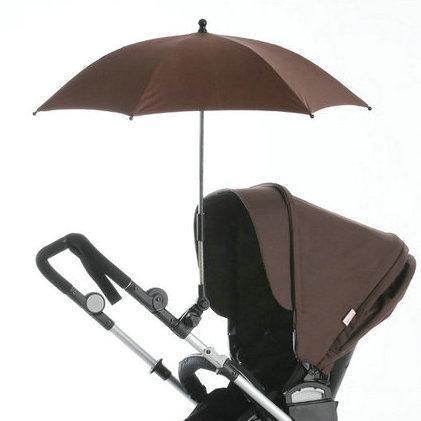 Brand new baby stroller accessories umbrella, colorful kids pram shade Parasol, adjustable folding umbrella,safest Fiber frame.(China (Mainland))