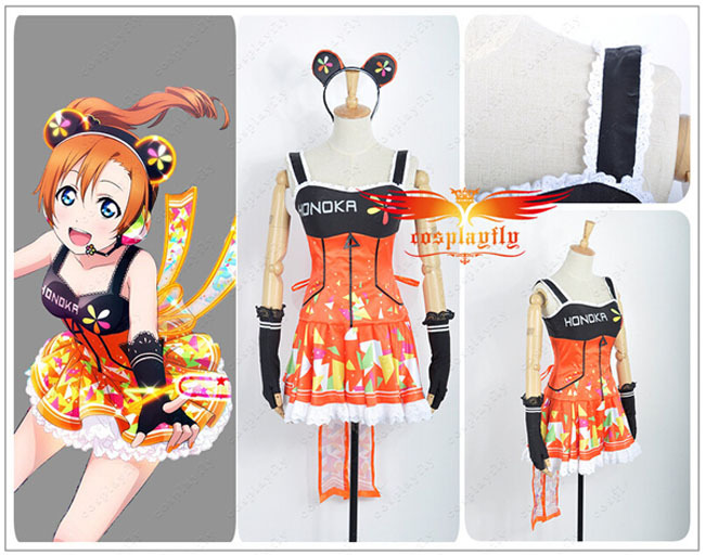 Custom Made Love Live Custom-Made-Love-Live-Honoka-Kosaka-Video-Games-Awakening-Cosplay-Costume-For-Halloween-Party
