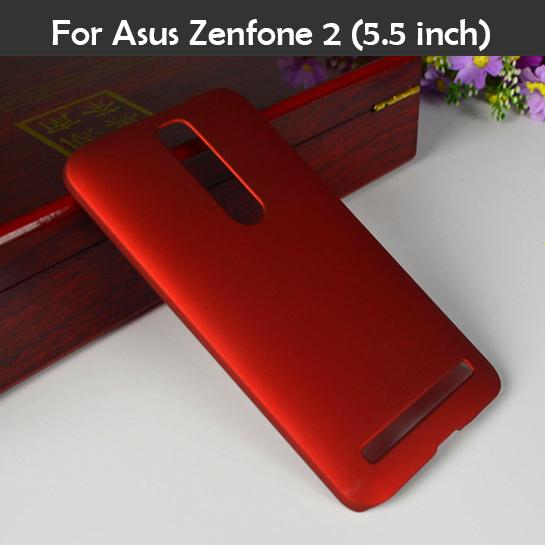 Colorful Oil coated Rubber Matte Hard Back Case for Asus Zenfone 2 zenfone2 ze551ml ze550ml 5
