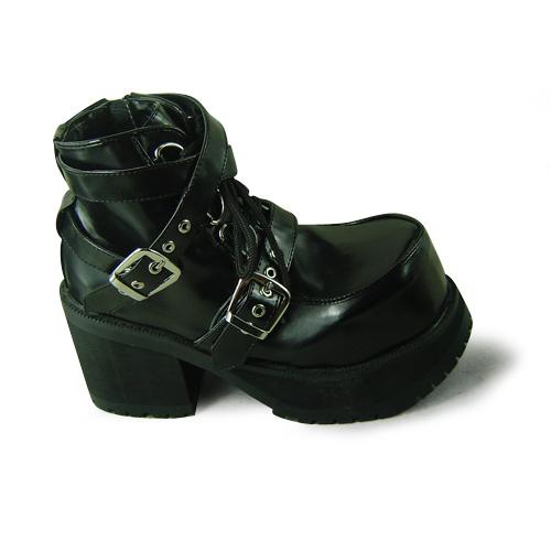 Здесь можно купить  Princess sweet lolita gothic lolita shoes custom  kera magazine rhombus punk shoes special 9102 black  Обувь