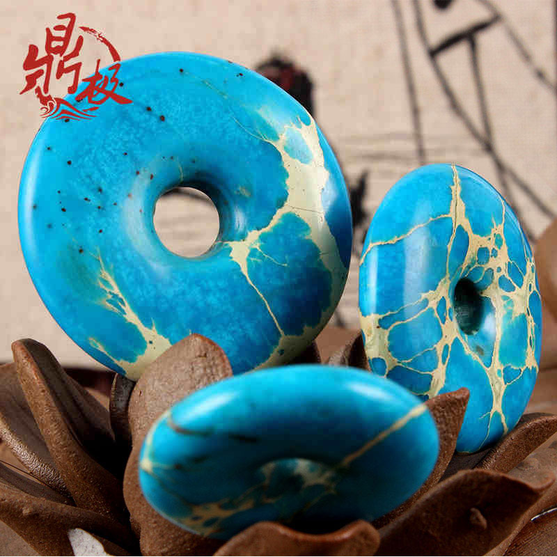 Natural stone for pendant sweater chain bag hanging beads car ornament diy accessories(China (Mainland))
