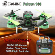 Free shipping! Falcon 180 FPV RTF RC Racer Quadcopter Drone CC3D FC 700TVL HD Camera(China (Mainland))