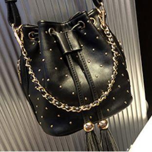 Fashion 3 colors women cute Bucket bag leather bag Brand designer