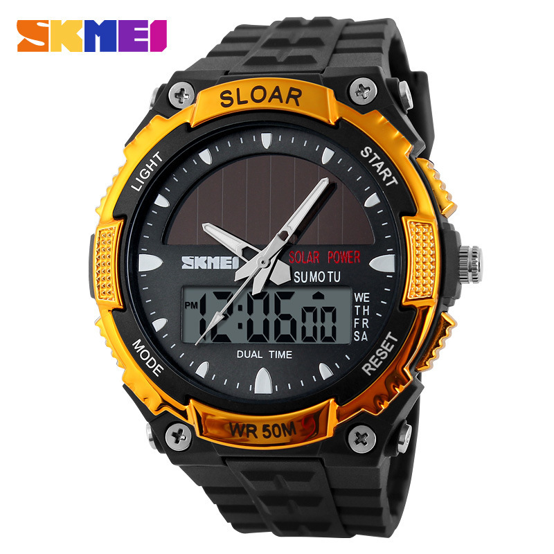 Skmei watches men luxury brand Military Watch Quartz Sport dive 50m LED Digital Fashion Outdoor Wristwatch relogio masculino