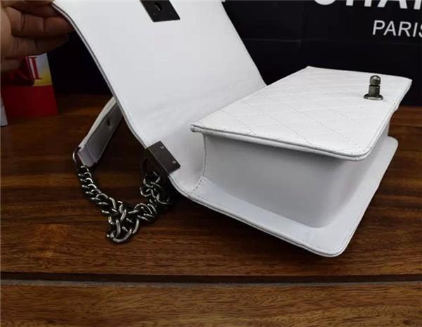 Women Bag Famous Brand Sheepskin Leather Handbag Le Boy Diamond Lattice Chain Bag For Womans Ladies Shoulder Messenger Bags