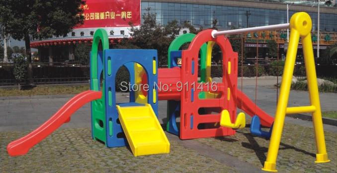 Plastic Swing Slide Set Outdoor Promotion Shop For