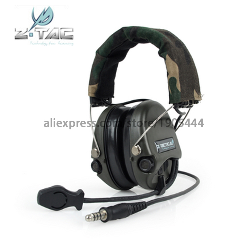 (Z 111)Earphone Element (Official Version)anti-noise headset tactical ZSordin headset Tactical Headset