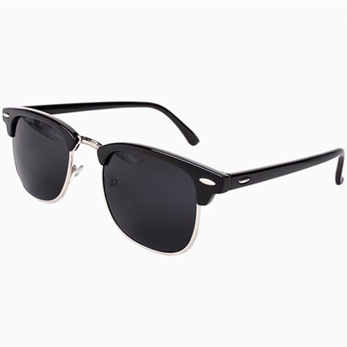Wayfarer Clubmaster Classical Sunglasses Men Women 2015 New So Real Brand Designer Summer style Points Sun Half Frame Glasses(China (Mainland))