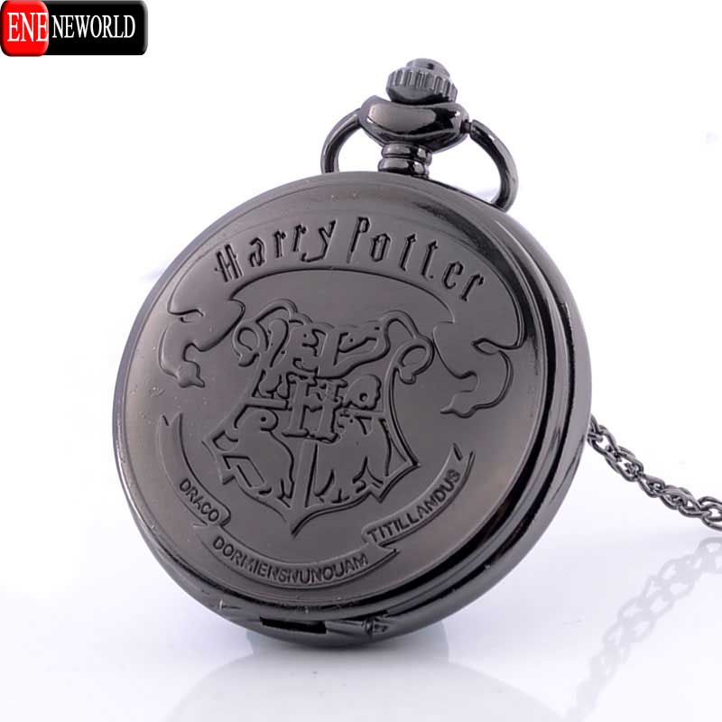 Vintage Harry Potter Quartz Pocket Watch Men Women Love Pendant Wholesale Price Steampunk Necklace Best Gift